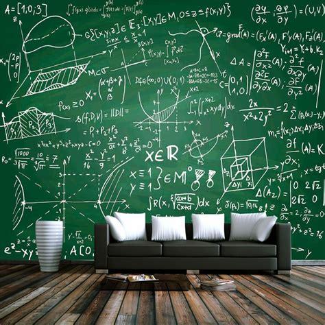 kustom  wallpaper ruang tamu kreatif papan tulis kapur
