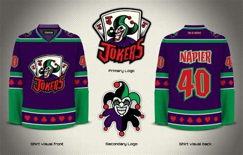 Kaos Gotham gotham jokers fiction sports logos jersey