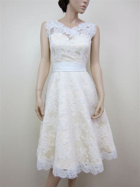 kurze brautkleider mit spitze a line pretty wedding dress with belt