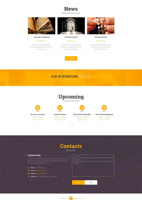 single page parallax template we think single multi page parallax template modern