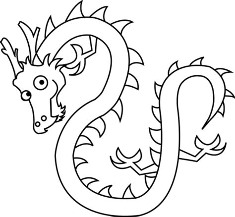 chinese dragon coloring pages easy how to draw chinese dragons with easy step by step drawing