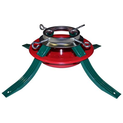 emsco quick stands series metal christmas tree stand for