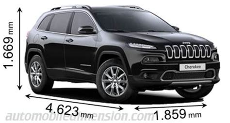 jeep length dimensions of jeep cars showing length width and height