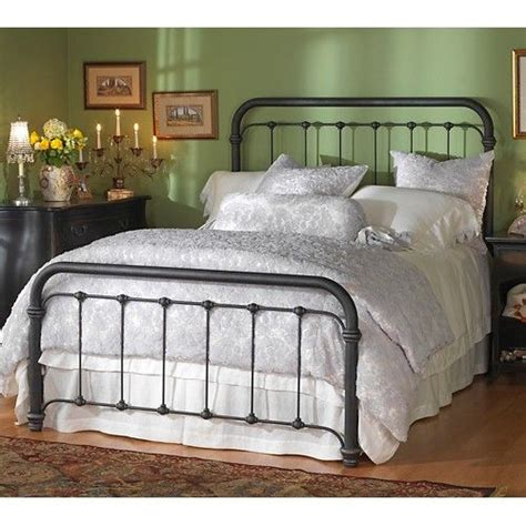 Black Iron Headboard by Braden Iron Bed By Wesley Allen Black Suede Finish