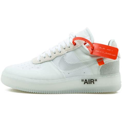 Nike X Offwhite Air 1 Fragment white x nike air 1 low white