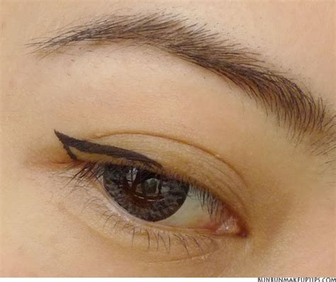 eyeliner tattoo not staying brown eyeliner vs black eyeliner asian www pixshark com