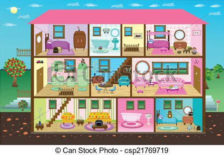 doll house clipart inside clipart doll house pencil and in color inside clipart doll house