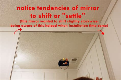 how to install a bathroom mirror mirror installation details reversadermcream com