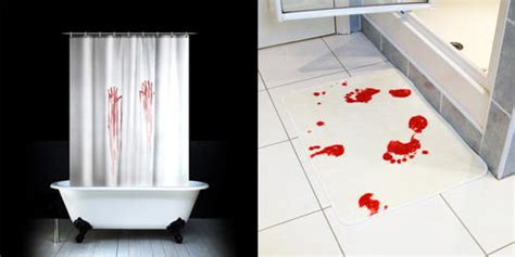 Crime Bathroom Decor simulated crime bathroom accessories boing boing