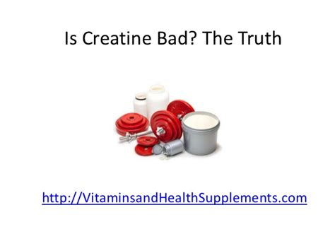 creatine bad for you is creatine bad the