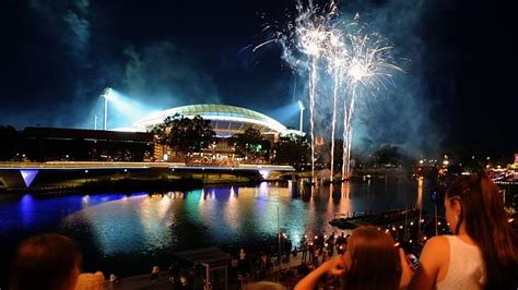 new year fireworks adelaide how south australia welcomed in 2015 breaking national