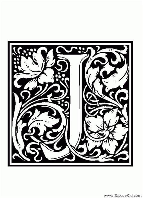 Coloriage Alphabet Lettrine Lettre J L L L L L L L L L L L L L L L L
