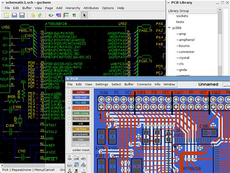 pcb layout software linux pcb design software on linux easyeda