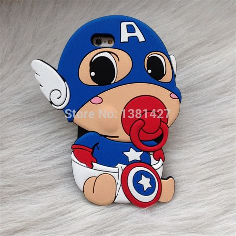 baby jelly doraemon for iphone 3d baby pacifier captain america