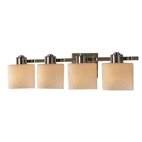 contemporary bathroom light fixtures chrome allen roth 4 light polished chrome contemporary bath