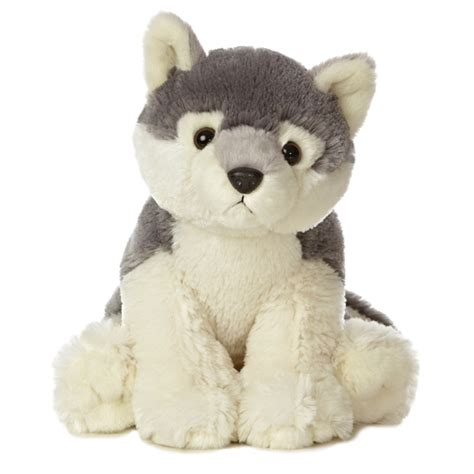 destination nation wolf stuffed animal by