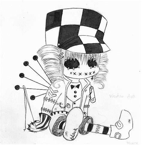 cute voodoo doll drawings voodoo doll by clandeztine on deviantart