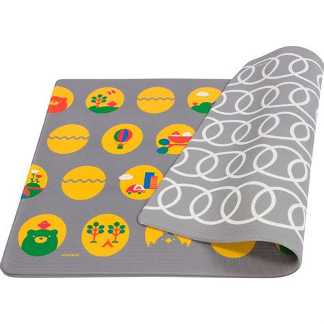 Reversible Doormat by Lollaland Play Mat Reversible Ultra Cushioned Non Toxic