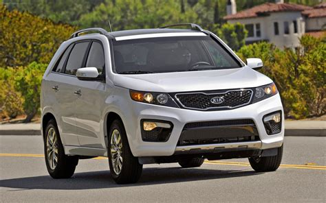 Kia New Sorento Kia Sorento 2013 Widescreen Car Photo 17 Of 46