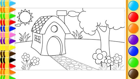 drawing of garden garden pictures for drawing ketoneultras com