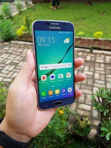 Harga Samsung S6 Flat Baru jual samsung galaxy s6 flat g625i 32gb fullset free