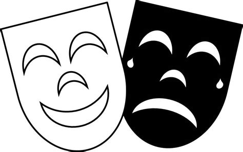 printable greek mask template greek comedy tragedy masks curriculations