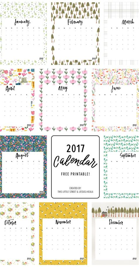 Printable Calendar 2018 Pinterest | 326 best free printable 2018 calendars images on pinterest