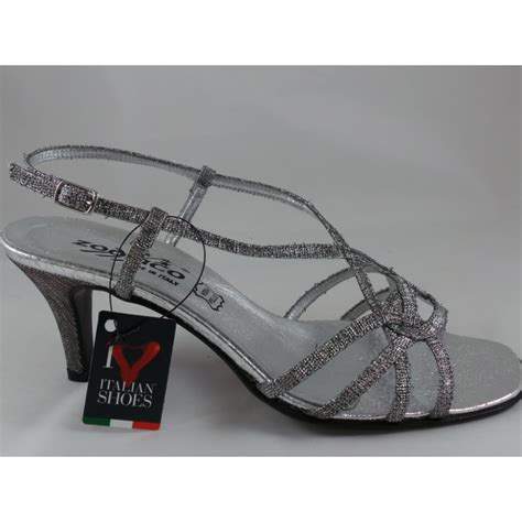silver strappy evening sandals 7499s silver strappy open toe sandal from size4footwear