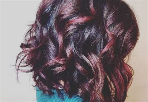 how to add colour chunks to hairstyles hairstyles for women in 2017