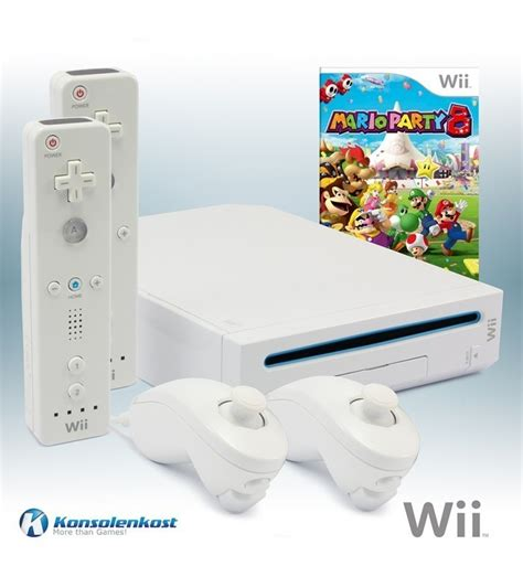 nintendo wii console white incl wii console white incl mario 8 2 official
