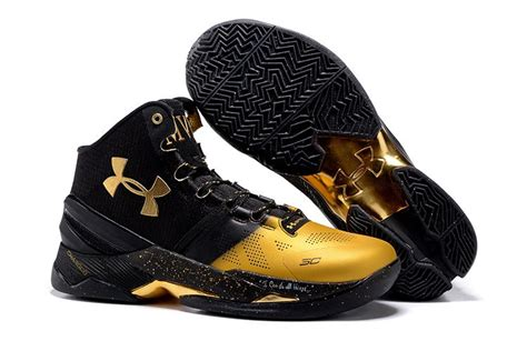 Armour Curry 2 0 Black Gold new armour curry 2 mvp black gold on sale cheap