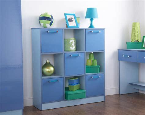 childrens bedroom storage furniture ottawa 2 tone blue 3x3 storage cube boys childrens