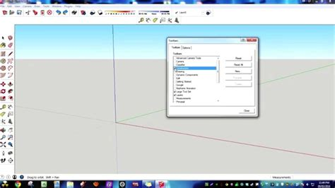 sketchup templates barras de herramientas youtube