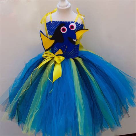 Dress Tutu Disney Anak details about disney finding dory inspired tutu dress age