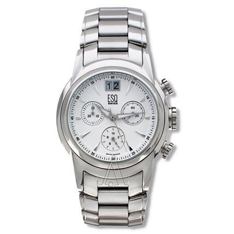 esq by movado quest 07300862 s chronograph quartz