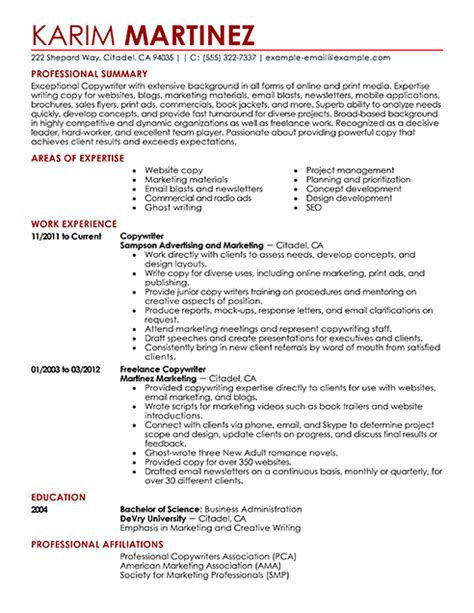 application letter resume exles
