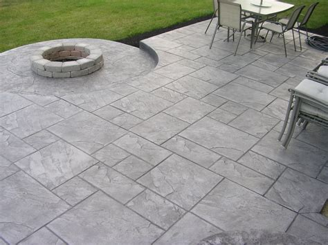 Pavers Vs Concrete Patio Sted Concrete Patio Vs Pavers Sted Concrete For Your Great Front Yard Home Decor Studio