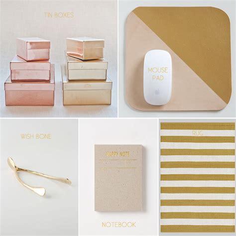 diy gold place card holders kristi murphy diy ideas shiny new office kristi murphy diy blog