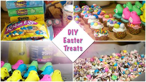 diy easter treats quick and easy youtube