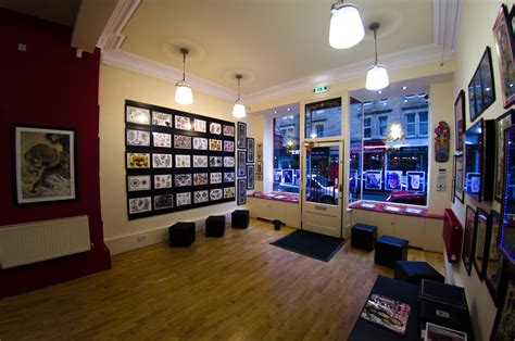 tattoo edinburgh parlour the shop studio xiii gallery