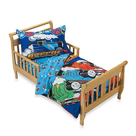 thomas bed set thomas the tank engine maximum speed 4 piece toddler