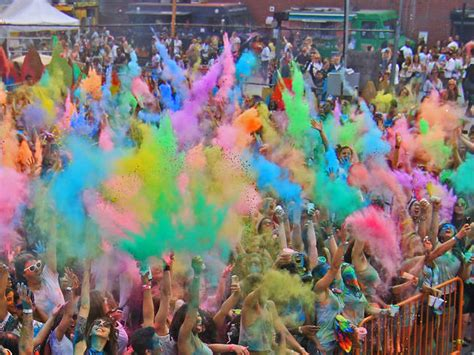 festival of colors holi nyc things to do in new york