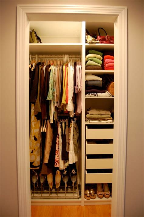Closet Organization For The Fashion Obsessed by Humble Closet Design In Personal Style Stunning Small