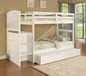 Bunk Bed With Stairs And Trundle Bunk Beds Design For Furniture By Powell Company Trundle Nevada By Design