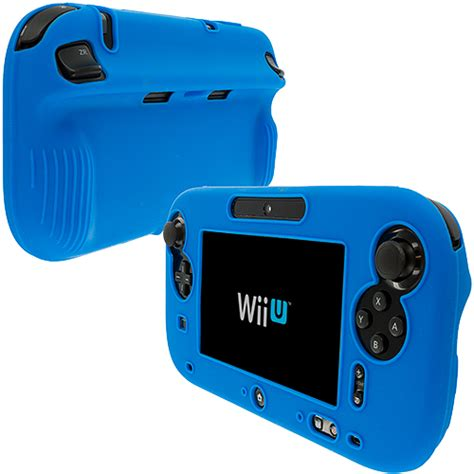 blue silicone protection gel cover nintendo wii