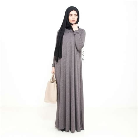Work And Pray Tunik Navy inayah grey flare abaya black jersey www
