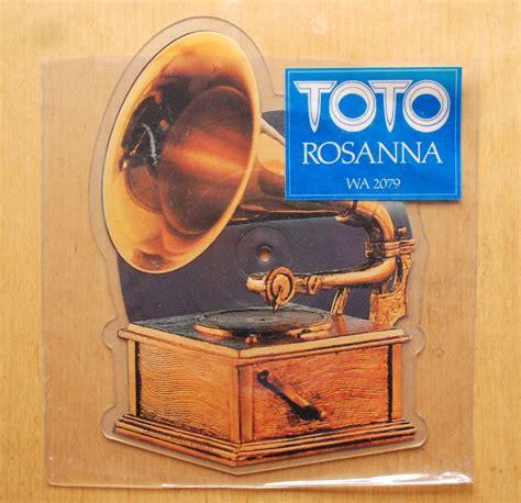 Sprei Rosanna Toto Rosanna Shaped 7 Quot Picture Disc Vinyl 12 Inch