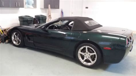 2000 Chevrolet Corvette Convertible by 2000 Chevrolet Corvette Convertible Green Black 2001 1999