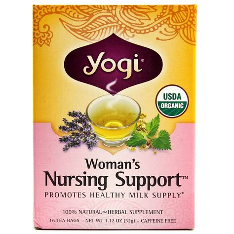Yogi Detox Tea Nursing by Yogi Tea Organic Teas Blend S Nursing Support