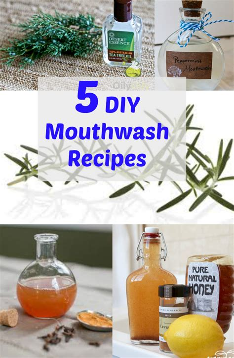 Detox Mouthwash Cvs by 5 Diy Mouthwash Recipes Discountqueens